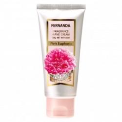 """Fernanda """"Розовая Эйфория"""" Парфюмированный крем для рук, 50 гр"""
