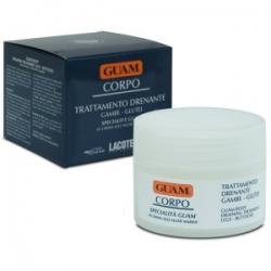 Guam CORPO - Крем для ног с дренажным эффектом, 200мл