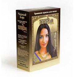 Aasha Herbals Краска для волос травяная «Черный кофе» 6*10 гр