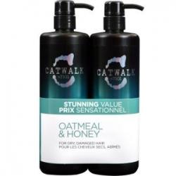 Tigi Catwalk Oatmeal & Honey Tweens - Набор для питания сухих и поврежденных волос