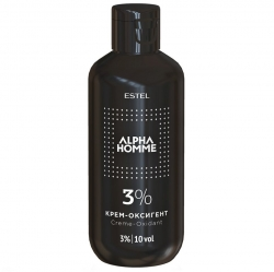 Estel Alpha Homme Creme Oxidant - Крем-оксигент 3%, 200 мл