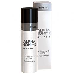 Estel Alpha Homme MMXVIII Deodorant Spray - Дезодорант-спрей, для мужчин, 100 мл