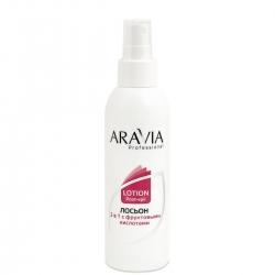 Aravia Professional - Лосьон 2 в 1 против вросших волос и для замедления роста волос с фруктовыми кислотами, 150 мл
