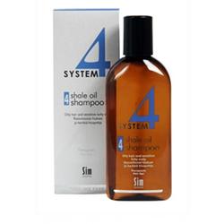 Sim Sensitive System 4 Therapeutic Climbazole Shampoo - Терапевтический шампунь № 4 для очень жирной, чувствительной и раздраженной кожи головы 500 мл