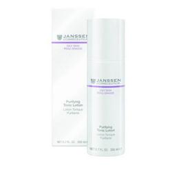 Janssen Pure Secrets Purifying Tonic Lotion - Тоник для жирной кожи и кожи с акне 200 мл