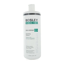 Bosley Воs Defense (step 1) Nourishing Shampoo Normal to Fine Non Color-Treated Hair - Шампунь питательный для нормальных/тонких неокрашенных волос 1000 мл