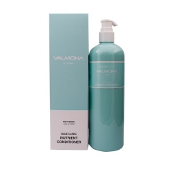Evas Valmona Recharge Solution Blue Clinic Nutrient Conditioner - Увлажняющий кондиционер для волос, 480 мл