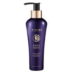 T-LAB Professional Kera Shot Leave-in Cream - Крем восстанавливающий с кератином для волос, 130мл