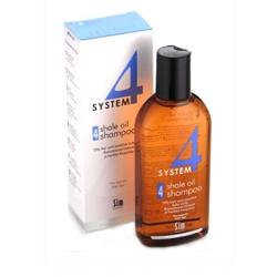 Sim Sensitive System 4 Therapeutic Climbazole Shampoo - Терапевтический шампунь № 4 для очень жирной, чувствительной и раздраженной кожи головы 215 мл