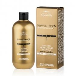 Hair Company Inimitable Blonde Perfectionex Bleaching Protector Treat 1 - Фаза 1 Защита и восстановление при обесцвечивании и других химических процедурах, 500 мл