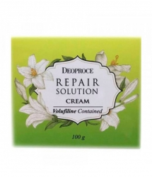 Deoproce Repair Solution Cream - Крем для лица с волюфилином, 100 гр