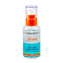 Christina Forever Young Dual Action Make Up Remover - Средство для снятия макияжа 100 мл