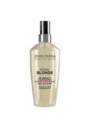 John Frieda Sheer Blonde Hi-Impact - Масло-эликсир для восстановления сильно поврежденных волос 100 мл