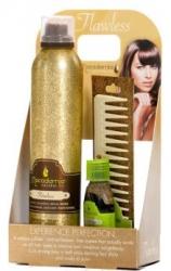 "Macadamia Natural Oil Flawless+ Healing Oil Treatment+ No Tangle Brush - Набор для волос: крем-мусс ""Без изъяна"""