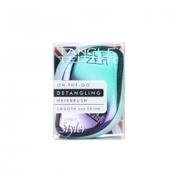 Tangle Teezer Compact Styler Petrol Blue Ombre - Расческа для волос