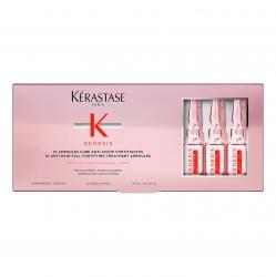 Kerastase Genesis Ampoules cure anti-chute fortifiantes - Ампулы от выпадения, для ослабленных и склонных к выпадению волос 10*6 мл