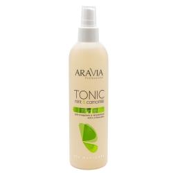 Aravia Professional - Тоник для очищения и увлажнения кожи с мятой и ромашкой, 300 мл