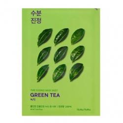 Holika Holika Pure Essence Mask Sheet Green Tea - Противовоспалительная тканевая маска, зеленый чай, 20 мл