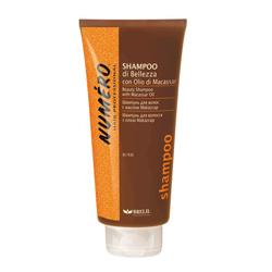 Brelil Numero Beauty Shampoo With Macassar Oil - Шампунь для красоты волос с макассаровым маслом и кератином 300ml