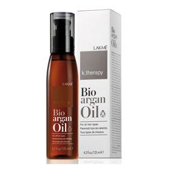 Lakme K.Therapy Bioagran Oil - Аргановое масло для увлажнения и ухода за волосами 125 мл