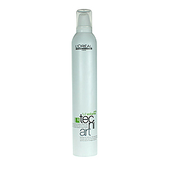 L'Oreal Professionnel Tecni. art Volume / Фулл Волюм Экстра - Мусс для объема нормальных и непослушных волос (фикс.5) 400 мл