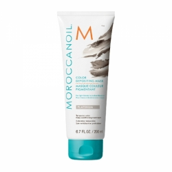 Moroccanoil Color Depositing Mask Platinum - Тонирующая маска (платина) 200 мл