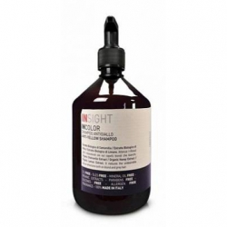 Insight Anti-Yellow Shampoo - Шампунь для нейтрализации жёлтого оттенка волос, 400 мл