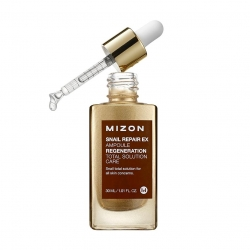Mizon Snail Repair Ex Ampoule - Сыворотка с экстрактом улитки, 30 мл