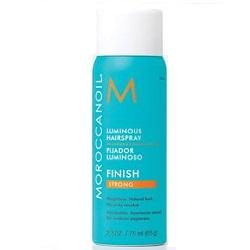 Moroccanoil Luminous Hair Spray - Лак для волос сияющий для эластичной фиксации, 75 мл
