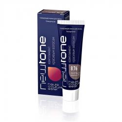 Estel NewTone mini - Тонирующая маска для волос 8/76 (Светло-русый коричнево-фиолетовый), 60 мл