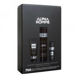 Estel Alpha Homme - Набор 750 (тонизирующий шампунь для волос, крем для бритья, крем после бритья)