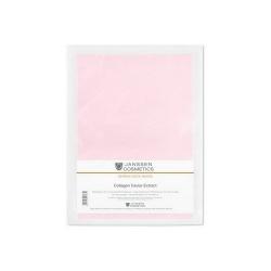 Janssen Dermafleece masks Collagen Caviar Extract - Коллагеновая биоматрица с экстрактом икры (ярко-розовая) 1 шт