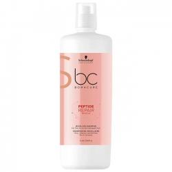 Schwarzkopf BC Bonacure Peptide Repair Rescue. Micellar Shampoo - Мицеллярный шампунь для поврежденных волос, 1000 мл