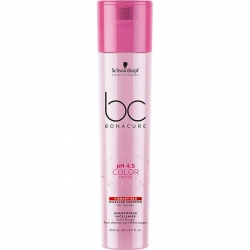 Schwarzkopf BC Bonacure pH 4.5 Color Freeze. Vibrant Red Micellar Shampoo - Мицеллярный шампунь для яркости красных оттенков волос, 250 мл