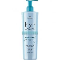 Schwarzkopf BC Bonacure Hyaluronic Moisture Kick. Micellar Cleansing Conditioner - Мицеллярный очищающий кондицинер для волос, 500 мл