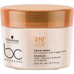 Schwarzkopf BC Bonacure Q10+ Time Restore. Treatment - Смягчающая маска для зрелых волос, 200 мл