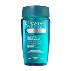 Kerastase Sensidote Dermo-Calm - Шампунь-Ванна для чувствительной кожи головы нормальных и смешанных волос 250 мл