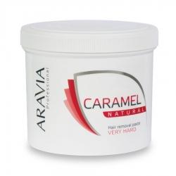 """Aravia Professional - Карамель для депиляции """"Натуральная"""" очень плотной консистенции, 750 г"""