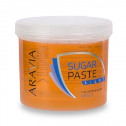 "Aravia Professional - Сахарная паста для депиляции ""Легкая"" средней консистенции, 750 г"