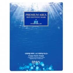 Milatte Rnw Premium Aqua Skin Refining Mask - Маска для лица увлажняющая, 27 мл