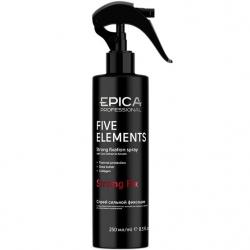 Epica Five Elements Spray - Спрей для волос сильной фиксации с термозащитой, 250 мл