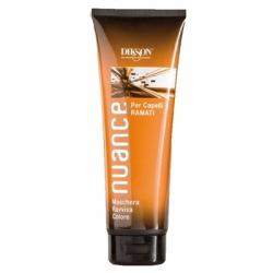Dikson Nuance Maschera Raviva Color for Copper-Colored Hair - Маска для оживления волос окрашенных в медные и медно-красные тона, 250 мл