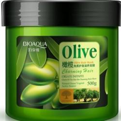 Bioaqua - Маска для волос с маслом оливы, 500 мл