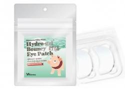 Elizavecca Milky Piggy Hydro-Gel Bouncy Eye Patch - Набор патчей для глаз с жемчугом и гиалуроновой кислотой, 20 шт