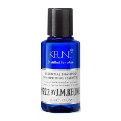 Keune 1922 Care Essential Shampoo - Универсальный шампунь для волос и тела, 50 мл