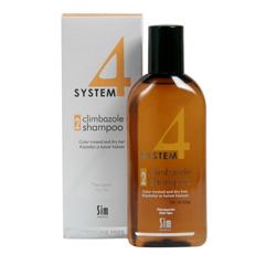 Sim Sensitive System 4 Therapeutic Climbazole Shampoo 2 - Терапевтический шампунь № 2 для сухих поврежденных и окрашенных волос 500 мл