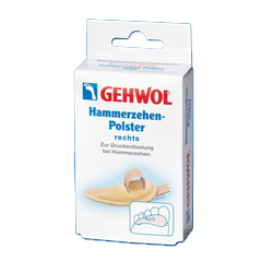 Gehwol Hammerzehen-Polster rechts - Подушечка под пальцы ног большая, правая №1 1 шт