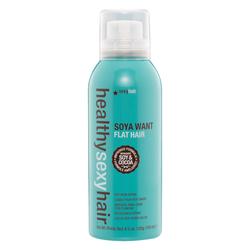 Healthy Sexy Hair Soya Want Flat Hair Flat Iron Spray - Спрей для горячих щипцов 150 мл