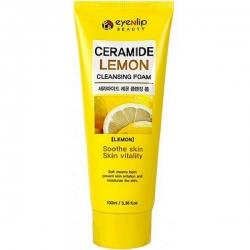 Eyenlip Ceramide Lemon Cleansing Foam - Пенка для умывания с экстрактом лимона, 100 мл