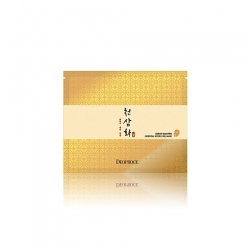 Deoproce Cheon Sam Hwa Oriental Hydro Gel Mask - Маска для лица гидрогелевая антивозрастная, 25 гр